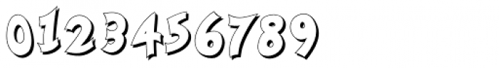 Nanumunga Shadow Bold Font OTHER CHARS