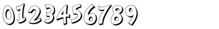 Nanumunga Shadow Font OTHER CHARS