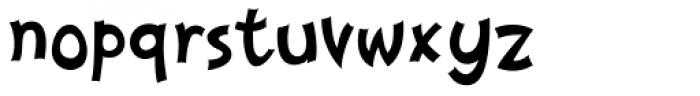 Nanumunga Font LOWERCASE