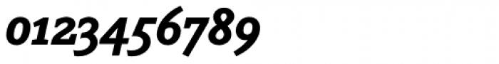Napoleone Slab Std Black Italic Font OTHER CHARS