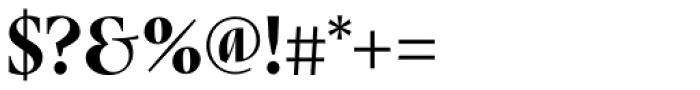 Nara Std Bold Cursive Font OTHER CHARS