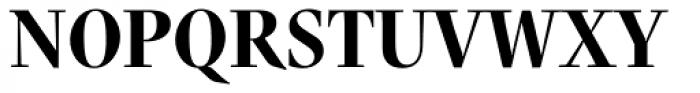 Nara Std Bold Cursive Font UPPERCASE