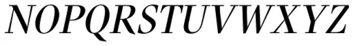 Nara Std Italic Font UPPERCASE