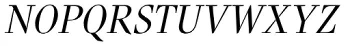 Nara Std Light Italic Font UPPERCASE