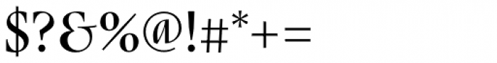 Nara Std Regular Font OTHER CHARS