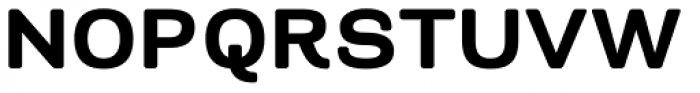 Naranja Bold Font UPPERCASE