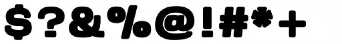 Naranja ExtraBold Font OTHER CHARS
