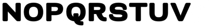 Naranja ExtraBold Font UPPERCASE
