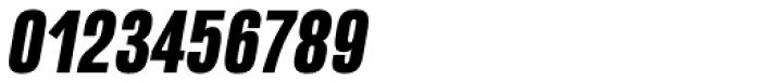 Naratif Condensed Black Italic Font OTHER CHARS