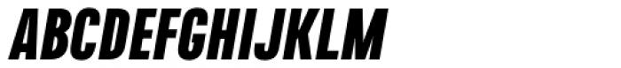 Naratif Condensed Black Italic Font UPPERCASE
