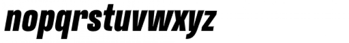 Naratif Condensed Black Italic Font LOWERCASE