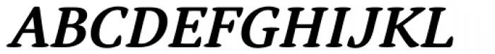Narevik Bold Italic Font UPPERCASE