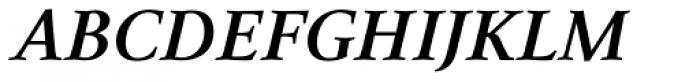 Narration Bold Italic Font UPPERCASE