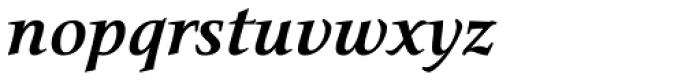 Narration Bold Italic Font LOWERCASE