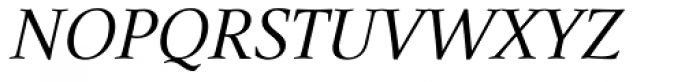 Narration Italic Font UPPERCASE