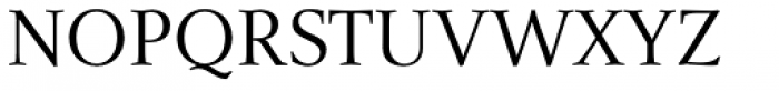 Narration Regular Font UPPERCASE