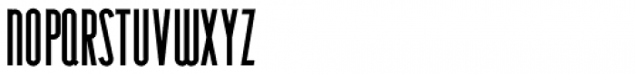 Narrow Deco JNL Regular Font LOWERCASE