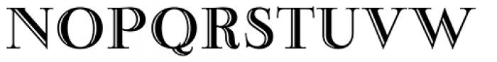 Narzis Font UPPERCASE