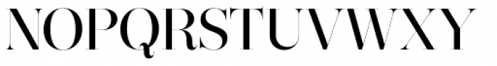 Narziss Pro Cy Medium Font UPPERCASE