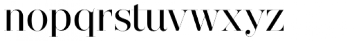 Narziss Pro Cy Medium Font LOWERCASE