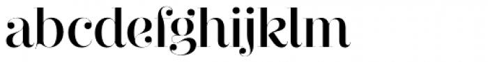 Narziss Pro Cy SemiBold Drops Font LOWERCASE