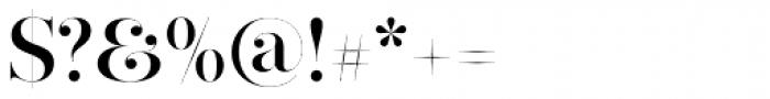 Narziss Pro Cy SemiBold Swirls Font OTHER CHARS