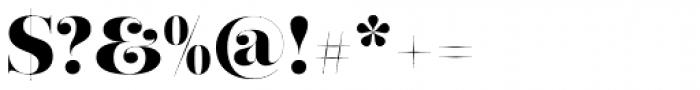 Narziss Pro Cy UltraBold Swirls Font OTHER CHARS