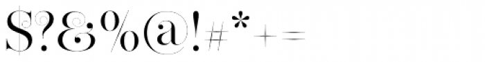 Narziss Swirls Font OTHER CHARS
