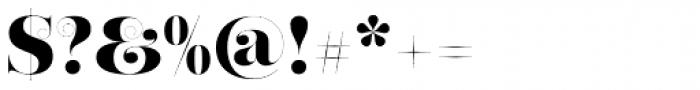 Narziss Ultrabold Swirls Font OTHER CHARS