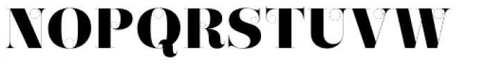 Narziss Ultrabold Swirls Font UPPERCASE