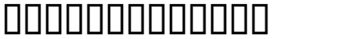 Nasser Thin Font LOWERCASE