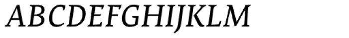 Nassim Latin Italic Font UPPERCASE