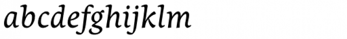 Nassim Latin Italic Font LOWERCASE
