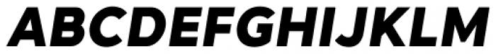 Naste Bold Italic Font UPPERCASE