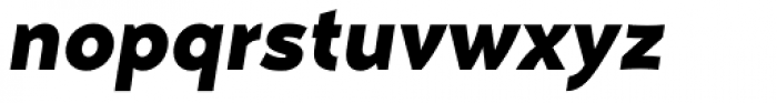 Naste Bold Italic Font LOWERCASE