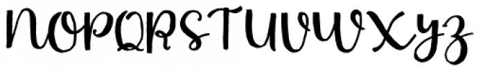 Nasty Life Regular Font UPPERCASE