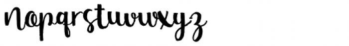 Nasty Life Regular Font LOWERCASE