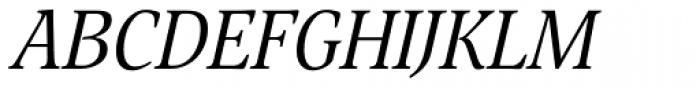 Nat Flight Italic Font UPPERCASE