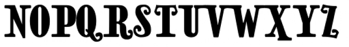 Natalie Condensed Font UPPERCASE
