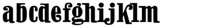 Natalie Condensed Font LOWERCASE