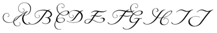 Natalya Alternate Two Font UPPERCASE