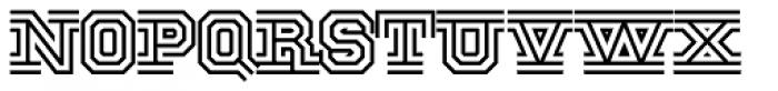 National Champion Tri Medium Font LOWERCASE