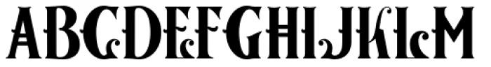 Nationale Font UPPERCASE