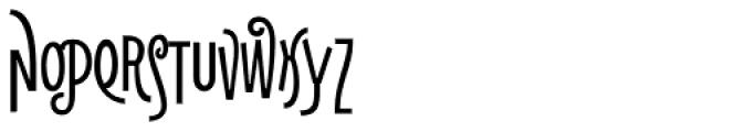 Naturalia Bold Titling Font UPPERCASE