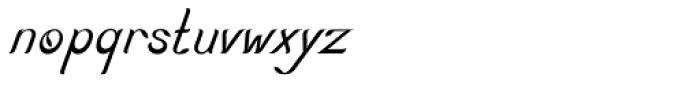 Nature Boy Italic Font LOWERCASE