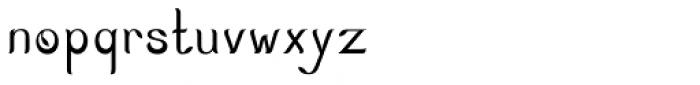 Nature Boy Regular Font LOWERCASE