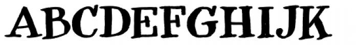 Natuxal Font UPPERCASE