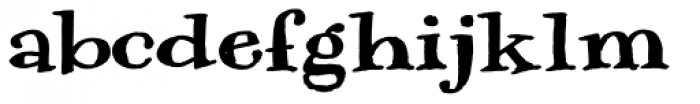 Natuxal Font LOWERCASE
