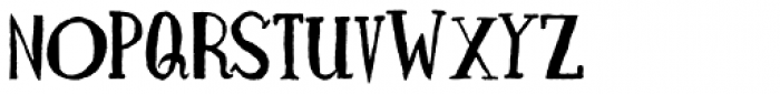 Naughties Font UPPERCASE