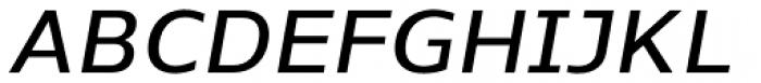 Nauman DemiBold Italic Font UPPERCASE